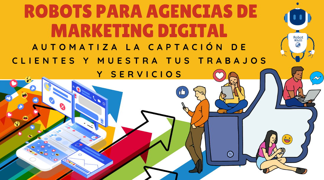 CHATBOTS PARA AGENCIAS DE MARKETING DIGITAL
