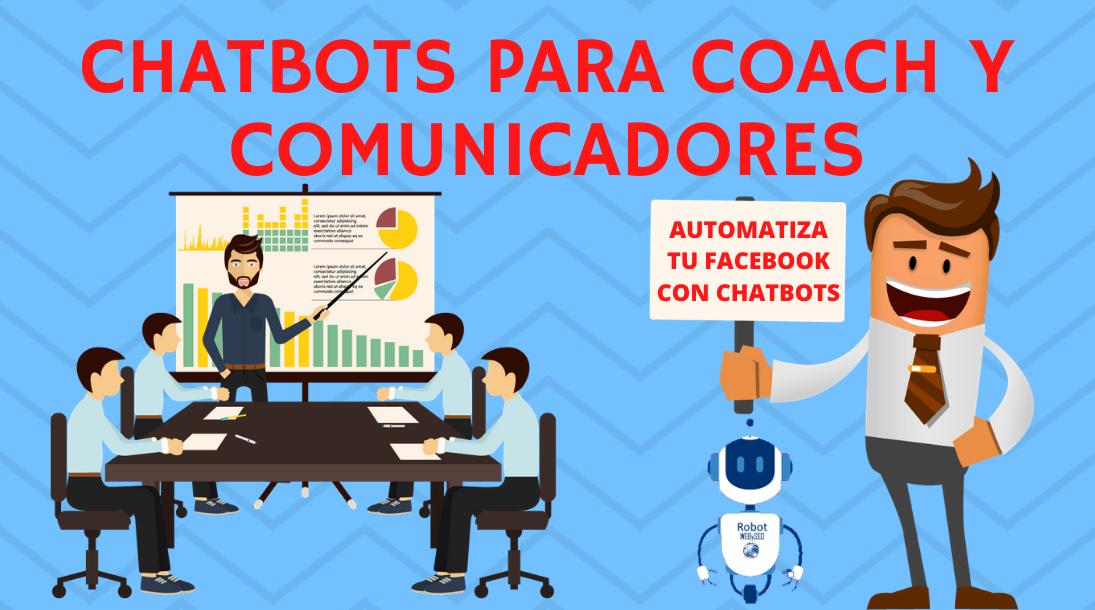 chatbots para coach y comunicadores